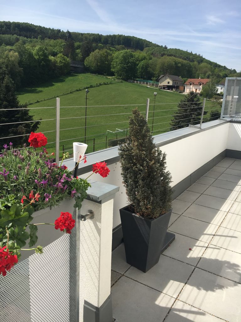 Balkone und Loggien