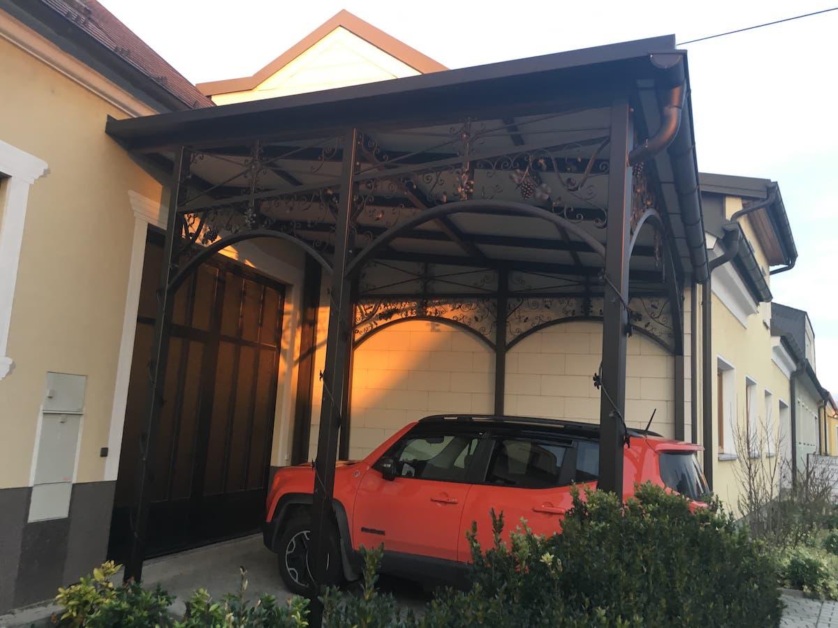 Carports und Pultdächer